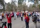 Valsts svētkos maratona treniņi Jelgavā un Rēzeknē
