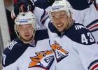 Kalniņš rezervē komandas zaudējumā, Mozjakinam 800. punkts KHL