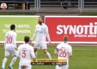 Video: ''Liepāja'' 1. minūtē nokārto uzvaru pār ''Riga''