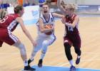 U20 meitenes pusi spēles noturas vadībā pret spēcīgo Franciju