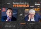 Tiešraide: Sporta diskusiju šovs Pendele ar Valdi Valteru un Edgaru Buļu