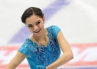 Pasaules labākajai daiļslidotājai iespaidīga īsā daļa Čeļabinskā (+video)
