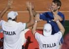 Čempionei Argentīnai bez Del Potro 0-2 pret Itāliju