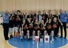 """Digna Strautmane brīnumainā galotnē izrauj uzvaru """"Rīdzenes"""" U19 meitenēm"""