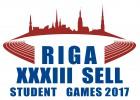 Rīgā notiks XXXIII SELL Studentu spēles