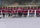 Latvijas skrituļhokeja izlase uzvar un iekļūst pirmās divīzijas finālā