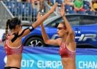 Mājas Eiropas čempionātā Graudiņa un Kravčenoka sāk ar uzvaru