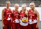 Latvijas U18 izlases basketbolistes startēs Eiropas 3x3 kausa finālturnīrā Ungārijā