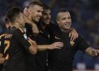 """""""Inter"""" uzvar ceturto spēli pēc kārtas, panākums arī Romai"""