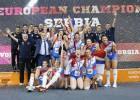 Serbijas volejbolistes otro reizi izcīna Eiropas čempionāta zeltu
