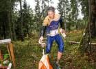Par Latvijas čempioniem orientēšanās maratonā kļuvuši Vīķe un Pauliņš