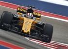 """""""Renault"""" izmēģina 2018. gada detaļas, Hilkenbergs tiek sodīts"""