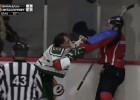 Video: Kautiņš OHL spēlē: Jākabsons izrēķinās ar Diļevku