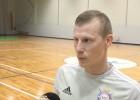 """Video: Rožkovskis: """"Visas komandas kopš sezonas sākuma ir palikušas stiprākas"""""""