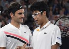 Federeram uzvarai pusfinālā pietiek ar nepilniem diviem setiem