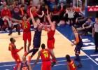 Video: NBA dienas topā Porziņģis tiek nobloķēts