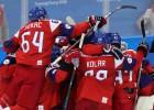 Čehija uzvar ASV un pirmo reizi kopš 2006. gada iekļūst spēļu pusfinālā