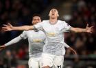 """Pussargs Matičs ar fantastisku tālsitienu izrauj dramatisku """"United"""" uzvaru"""