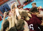 Valmierā turpinās Triju nāciju turnīrs - latvieši pret šveiciešiem
