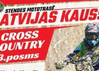 """Sestdien Stendē Latvijas kausa """"Cross Country"""" trešais posms"""
