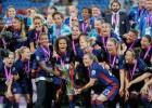 """Lionas """"Olympique"""" triumfē sieviešu Čempionu līgā un kļūst par rekordisti"""