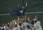 """Zidāns pēc trīs Čempionu līgas tituliem pamet Madrides """"Real"""""""