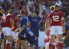 ASV izrauj uzvaru pār Skotiju, Krievija pārliecinoši pārspēj Kanādu