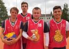 """""""Bauskas Zelta lauvu"""" 3x3 basketbolisti trešo reizi uzvar """"A7 tūres"""" turnīrā"""