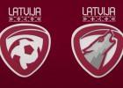Latvijas futbola izlases jaunā identitāte - vilks