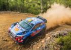 Turcijas WRC rallijā pēc piektdienas ātrumposmiem ļoti spraiga cīņa par uzvaru