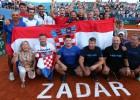 Horvātija izšķirošās spēles piektajā setā uzvar ASV