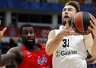 Peineram spīdošs puslaiks pret CSKA, Pasečņikam lieliska spēle Atēnās