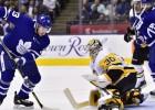 """Marejs apstādina """"Maple Leafs"""" uzbrukumu, Detroitai sliktākais sākums vēsturē"""