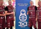 """""""Ghetto Basket"""" kvartetam otrā vieta Eiropas līgas otrajā posmā"""