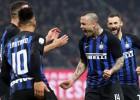 """Vārtu sprādziens piecās minūtēs: """"Inter"""" mājās uzveic """"Sampdoria"""""""