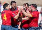 Spānija un Gruzija tiek pie graujošām uzvarām EČ