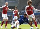 """""""Arsenal"""" zaudē pret """"Everton"""", saasinot cīņu par labāko četrinieku"""