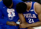 ''76ers'' basketbolists Džonsons sodīts par telefona lietošanu spēles laikā