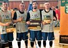 Seņkāns, Šteinbergs, Ginters un Pāže uzvar 3x3 turnīrā Čehijā