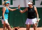 """Ostapenko un Kičenoka nenosargā pārsvaru un zaudē """"French Open"""" ceturtdaļfinālā"""