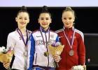 Mākslas vingrotājai Stepulānei bronza starptautiskās sacensībās Brno