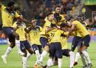Itālija neiesit <i>pendeli</i>, Ekvadora nodrošina savu pirmo godalgu Pasaules kausā