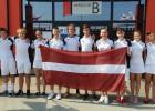 Latvijas U17 badmintonisti EČ pirmajā dienā nespēj pretendēt uz uzvarām