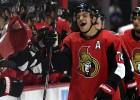 """""""Senators"""" bez Balcera pieveic """"Maple Leafs"""", Ābols """"Panthers"""" ceturtajā maiņā"""