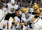 """Bļugera """"Penguins"""" piecu uzvaru sērija pārtrūkst pret """"Golden Knights"""""""