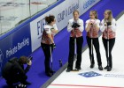 Latvijas kērlingisti gatavi startam Eiropas čempionātā Zviedrijā