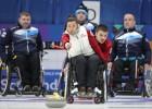 Latvijas ratiņkērlinga izlase pasaules čempionātā cīnīsies par paralimpisko spēļu punktiem