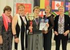 Latvijas dāmu seniora šahistes izcīna pasaules bronzu