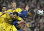 """Barcelona"" un ""Chelsea"" spēle noslēdzas bez vārtu guvuma"