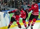 Kanādas un Zviedrijas hokejistes izcīna otrās uzvaras